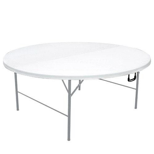 Mobiliario para exterior mesas y sillas generico mesa for Mesa plegable redonda