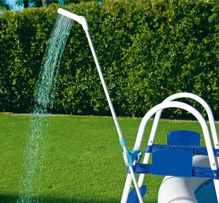 Piscinas accesorios y mantenimiento bestway ducha para for Manguera para piscina
