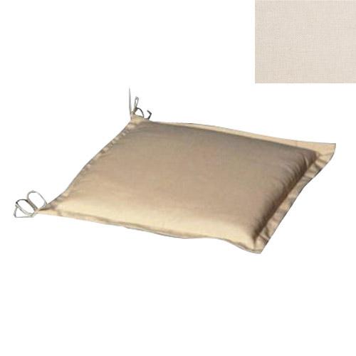 Mobiliario para exterior cojines saturnia coj n para silla 50x50x5 cm beige desenfundundable - Cojines de exterior ...