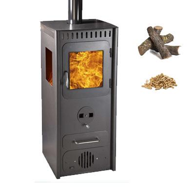 Climatizaci n estufas de le a juan panadero estufa de le a - Estufa de pellets y lena ...