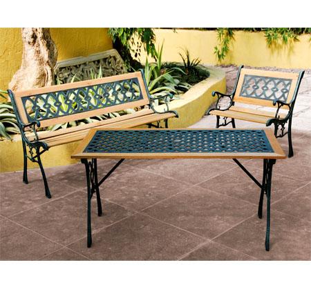 Mobiliario para exterior mesas y sillas papillon silla el for Rebajas mobiliario jardin