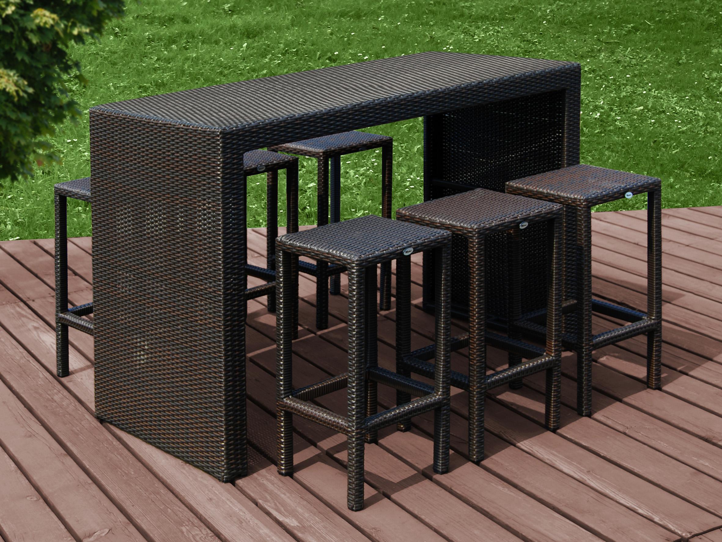 Mobiliario para exterior mesas y sillas generico conjunto - Mobiliario exterior jardin ...