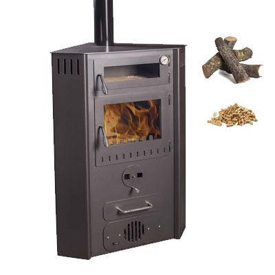 Climatizaci n estufas de le a y pellets juan panadero - Estufa de pellets y lena ...