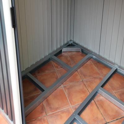 Casetas met licas duramax estructura de suelo casetas for Casetas metalicas