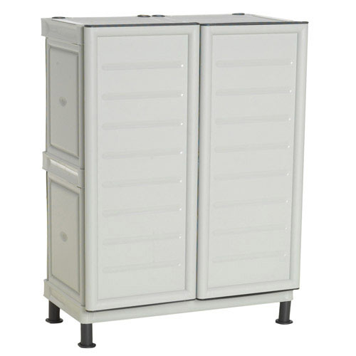 Mobiliario para exterior almacenaje maurer armario resina - Armario resina bajo ...