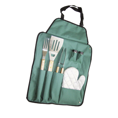 Delantal Set Barbacoa 6 piezas