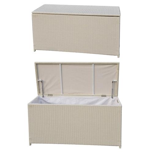 Mobiliario para exterior almacenaje generico ba l jard n - Baul plastico jardin ...