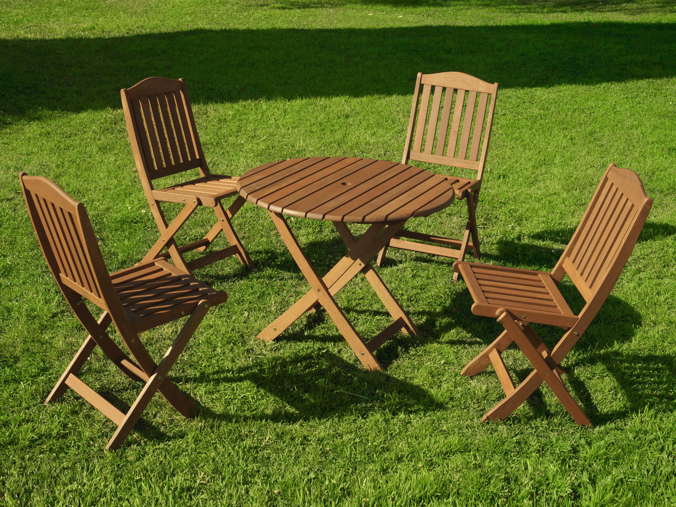 Mobiliario para exterior mesas y sillas papillon conjunto for Rebajas mobiliario jardin