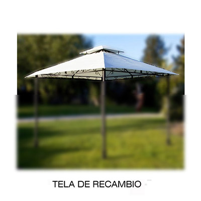 Mobiliario para exterior p rgolas generico tela recambio for Recambio tela parasol 3x3