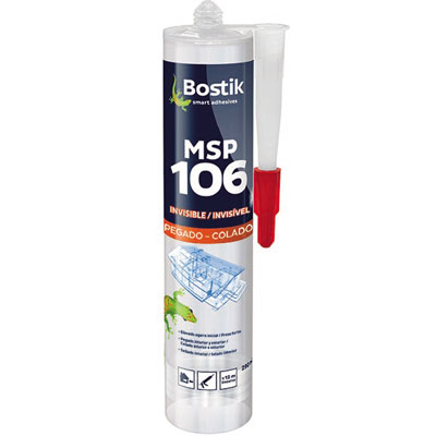 MSP 106 INVISIBLE Cartucho 290 ml	Transparente