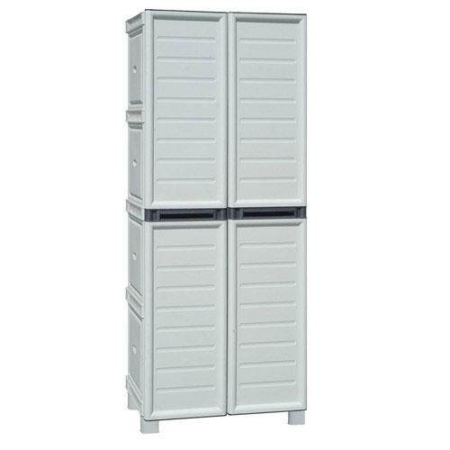 Mobiliario para exterior almacenaje maurer armario resina for Ikea armarios de resina para exterior