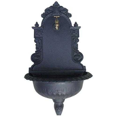 Mobiliario para exterior fuentes saturnia fuente jard n - Fuente de pared para jardin ...