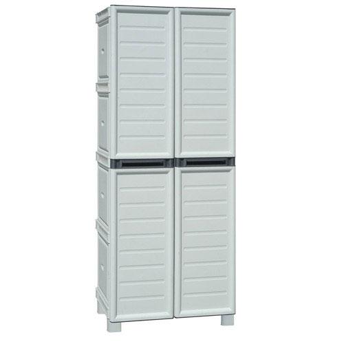Mobiliario para exterior almacenaje maurer armario resina for Armarios resina para exterior ikea