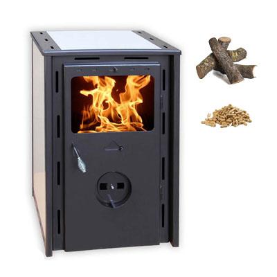 Climatizaci n estufas de le a y pellets juan panadero - Estufa de lena o de pellets ...