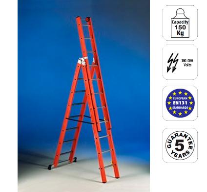 Escaleras escaleras de fibra de vidrio svelt escalera for Escaleras fibra