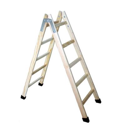 Escaleras madera escaleras navarra escalera de madera de for Plano escalera madera