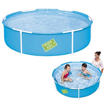 Piscinas infantiles generico piscina infantil redonda 580 for Piscina 8000 litros redonda