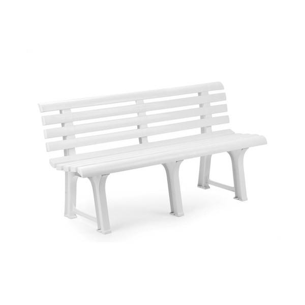 mobiliario para exterior bancos generico banco resina