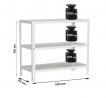 Estantería Homeclick Metal Plus 3/300 SIMON RACK