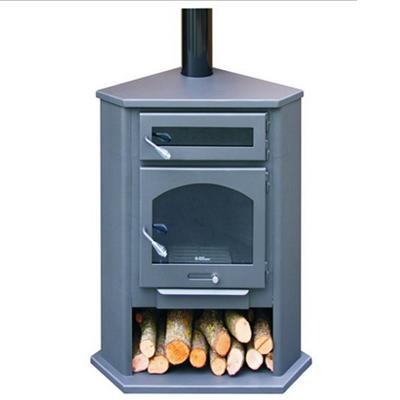 Climatizaci n estufas de le a con horno juan panadero - Instalacion estufa lena ...