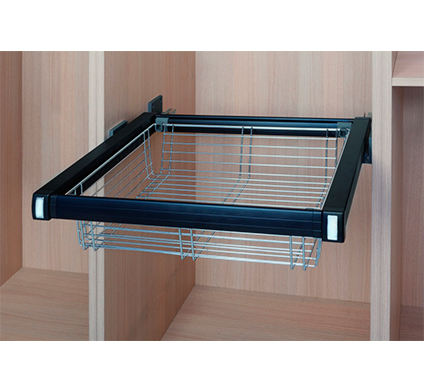 Complementos armarios organizaci n hpro cesto met lico - Complementos armarios ...