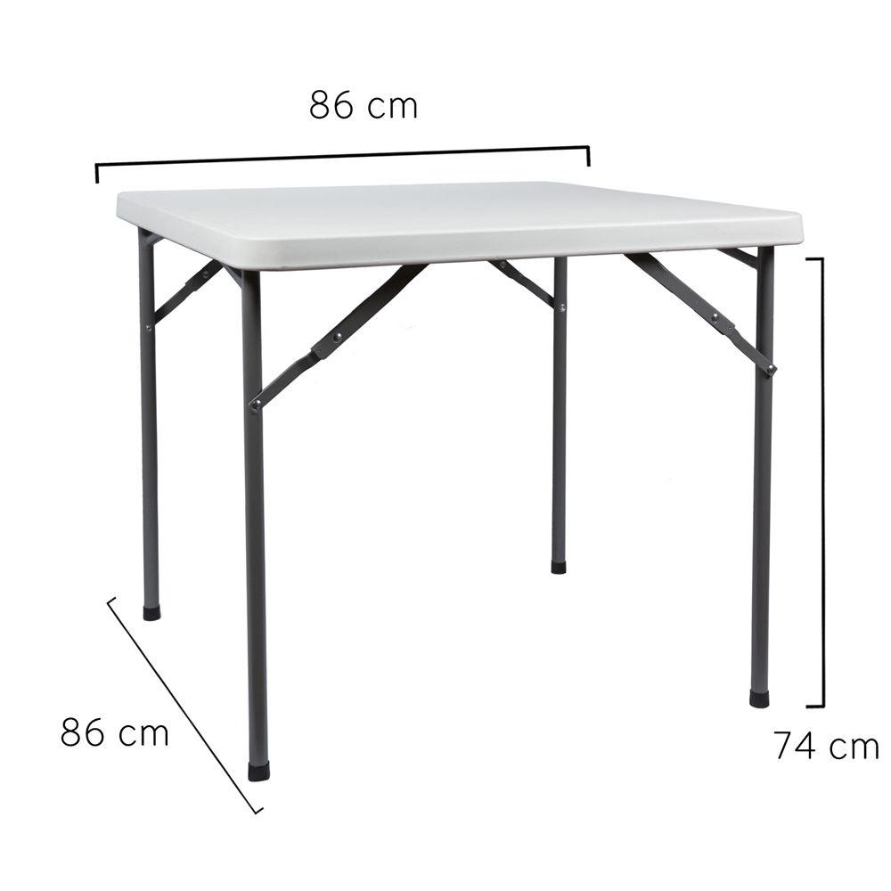 Mobiliario para exterior mesas y sillas papillon mesa plegable cuadrada comprar mesas y sillas - Mesa plegable eroski ...